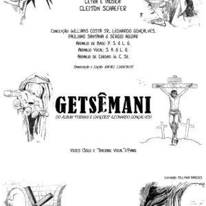 Getsêmani – Vozes/Piano