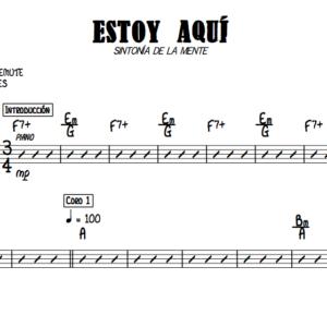 Estoy Aquí – Base (Guitarra)